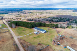 For Sale 148 Acre waterfront (River) property/heated workshop