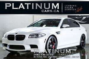2013 BMW M5 $499 BI-WEEKLY/ EXECUTIVE/ FROST WHITE/ V-8 ENGINE