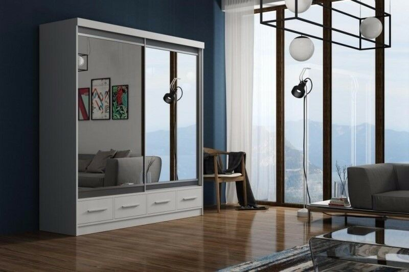 ==BEST SELLING BRAND== WOW !~! BRAND NEW MARGO 2 DOOR GERMAN WARDROBES WITH 2 DRAWERS
