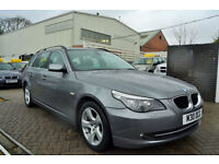 BMW 520 2.0TD Auto SE Touring 2007, 75k MILES,FULL S/HISTORY, NEW MOT, 3 OWNERS