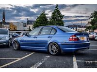 Bmw 320d Msport Indvidual E46 Estoril Blue