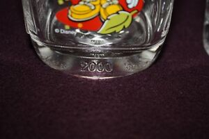 Verres de collection McDonald Disney 2000 West Island Greater Montréal image 2