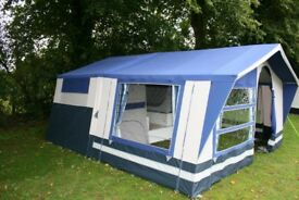 Lovely trailer tent