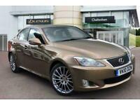 2010 Lexus IS SALOON 250 F-Sport 4dr Auto Saloon Petrol Automatic
