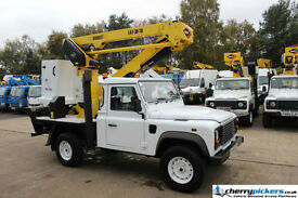 2010 Land Rover Defender Puma Versalift Access Platform Cherry Picker 14.5 Metre