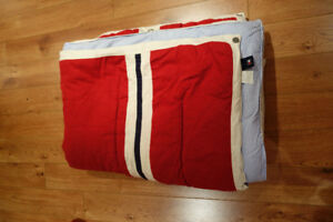 Tommy Hilfiger Twin Comforter, sheet set and bedskirt