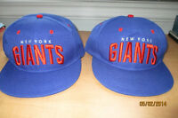CASQUETTES NEUVES...NY GIANTS !!!!!!!