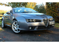 Alfa Romeo Spider 2.2JTS FSH , PR LADY OWNER 7YRS RARE LOW MILEAGE EXAMPLE