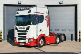 2018 (18) SCANIA S Series S580 V8 (Euro 6) 6X2 Tractor Unit