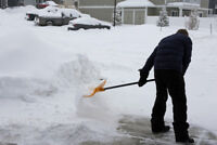 Looking for volunteers to shovel snow for seniors!