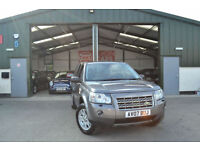 2007 Land Rover Freelander 2 2.2Td4 AUTOMATIC DIESEL 1 OWNER FROM NEW SAT NAV