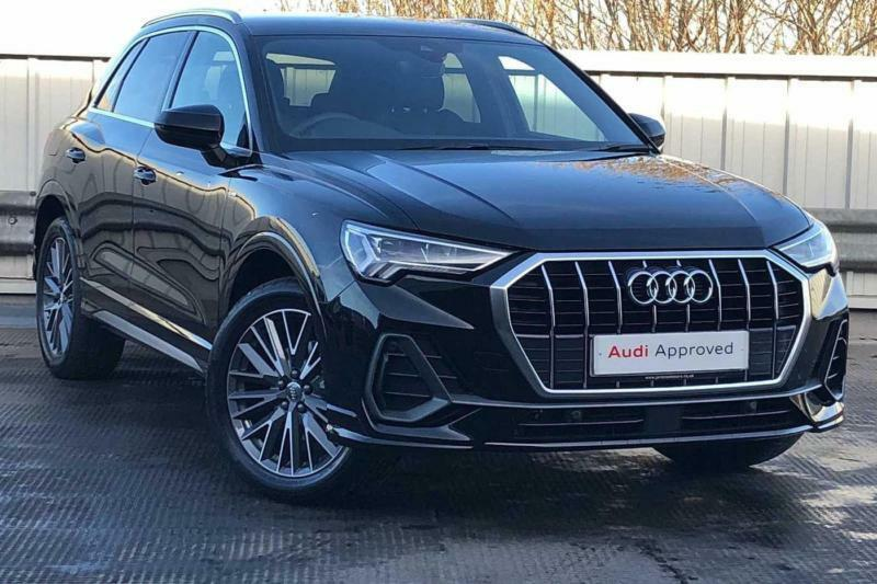 2018 Audi Q3 S Line 35 Tfsi 150 Ps S Tronic Petrol Black Semi Auto