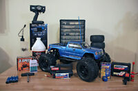 HPI Savage XL with LRP ZR.30 Spec 2 nitro engine MINT CONDITION