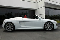2011 Audi R8 Spyder 5.2L V10 Convertible with Suzuka Grey paint