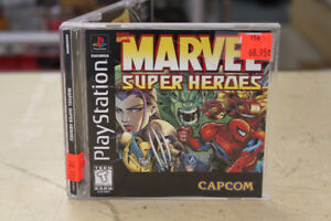 ** AWESOME ** Marvel Super Heroes for Playstation