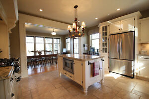 DeCoste Kitchen with Island and Granite Countertops