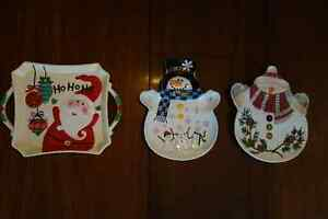 Christmas cookie plates-add cookies, great gift! Kingston Kingston Area image 1