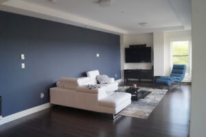 Penthouse condo with view of Bedford Basin!