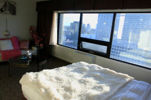 AMAZING LUXURY spacious high floor in Downtown w/breakfst! $47