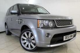 2012 12 LAND ROVER RANGE ROVER SPORT 3.0 SDV6 AUTOBIOGRAPHY SPORT 5DR AUTOMATIC