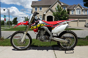 2013 Honda CRF450R With Ownership