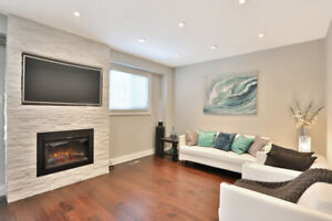 Custom Fireplace Build With TV Mounting Season Ending Discount!