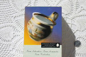 COLLECTIBLE WEIMAR PORCELAIN TEACUP AND SAUCER Strathcona County Edmonton Area image 2
