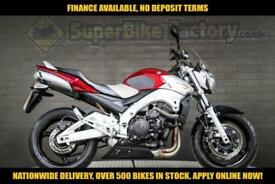 2008 58 SUZUKI GSR600 600CC 0% DEPOSIT FINANCE AVAILABLE