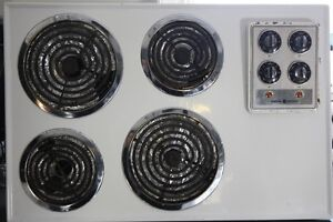 Wall oven and counter top burners