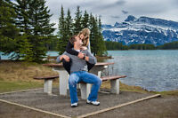 October 9, 2015 discounted Engagement Mini's in Canmore!