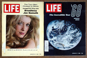 Lot of 36 LIFE Magazines from 1969