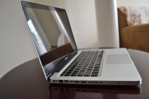 13-Inch Macbook Pro - with Box - Core i5, 500 GB HD - $480