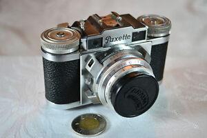 Antique/Antiquité:   Caméra Paxette 11M - 1954
