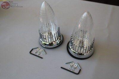 59 Cadillac Clear Lens Custom Tail Park Lamp Fush Mount Assembly Hot Rat Rod New