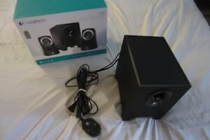 SUBWOOFER: Logitech z313 – Mint Condition – for PC speakers