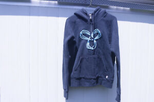 Black and Turquoise TNA Hoodie
