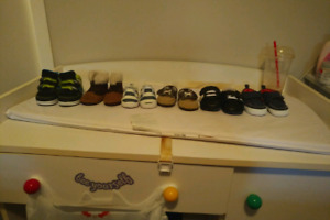 6 pairs of baby boy foot wear !