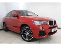 2015 15 BMW X4 2.0 XDRIVE20D M SPORT 4DR AUTOMATIC 188 BHP DIESEL
