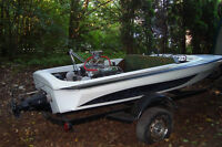 16 ' Jet Boat-1969 Wreidt California with trailer