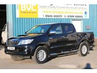 2013 TOYOTA HI-LUX INVINCIBLE 4X4 D-4D DOUBLECAB AUTOMATIC PICK UP, 1 OWNER, FUL