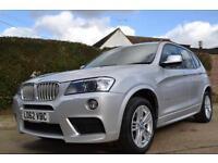 2013 BMW X3 3.0 XDRIVE 30D M SPORT AUTO ESTATE DIESEL