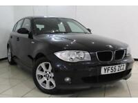 2006 55 BMW 1 SERIES 2.0 118I SE 5DR 128 BHP