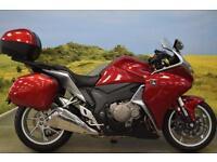 Honda VFR1200 2010**PANNIER, TOPBOX, H.IS.S, HONDA NAV CONTROLS**