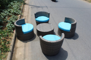 stackable outdoor wicker furniture sale. lowest price guarantee