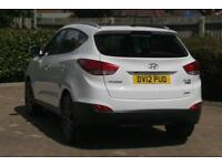 2012 Hyundai ix35 2.0 CRDi Premium 4WD Diesel white Manual