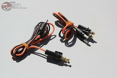 - 60-66 Chevy Fleetside Pickup Truck Tail Light Lamp Wire Pigtail Connectors Pair