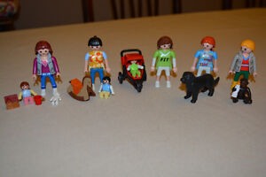 Playmobil Mom's, Babies & Pets Lot- All for $15