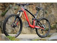 NS Bikes Snabb E2 Enduro Bike Large ( Downhill MTB Mountain Bicycle Trail )