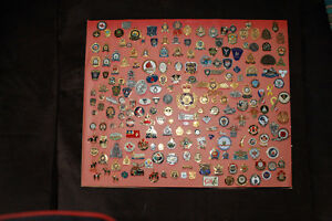 Canadian Law-enforcement/police agencies and units pins