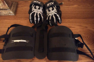 Adult small warrior kidney lacrosse pads I CHEAP!!!!